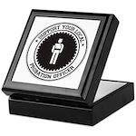 Support Probation Officer Keepsake Box