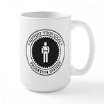 Support Probation Officer Large Mug