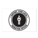 Support Probation Officer Postcards (Package of 8)