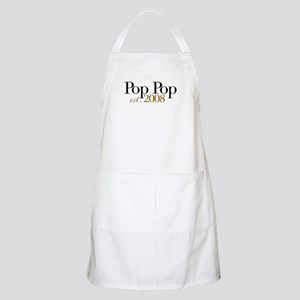 New Pop Pop est 2008 BBQ Apron