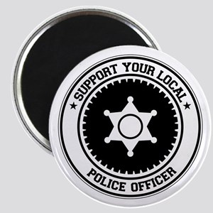 Support Police Officer Magnet
