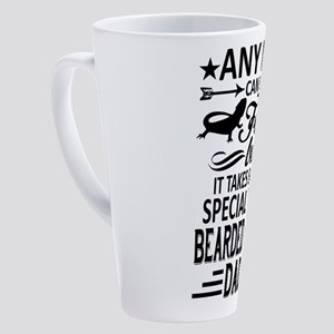 Bearded Dragon 17 oz Latte Mug