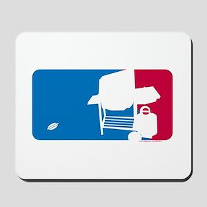 Official BBQ Logo Mousepad