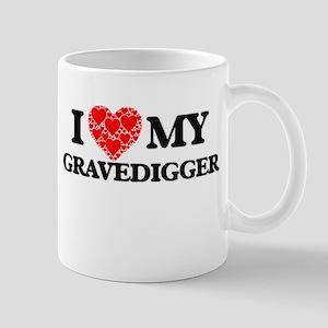 I Love my Gravedigger Mugs