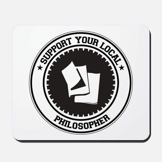Support Philosopher Mousepad