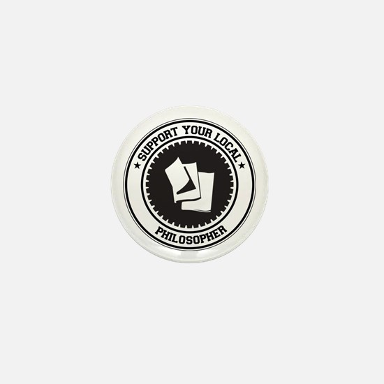 Support Philosopher Mini Button