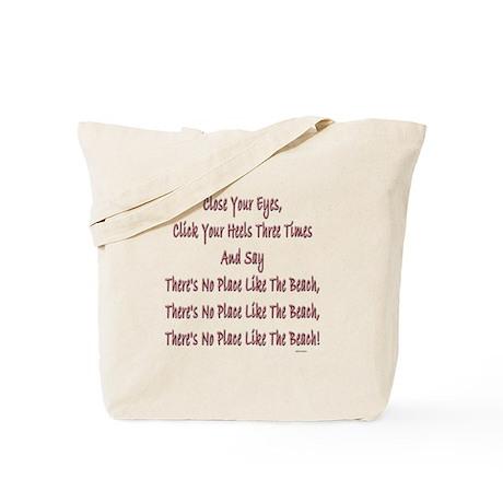 No Place Beach Tote Bag