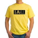 I Hate S.L.C. Yellow T-Shirt
