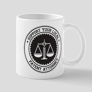 Support Patent Attorney Mug