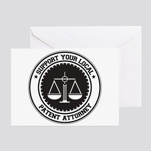 Support Patent Attorney Greeting Card