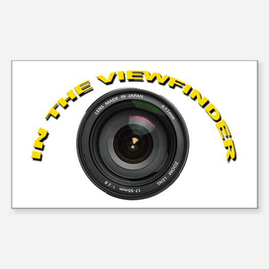In The Viewfinder Rectangle Decal