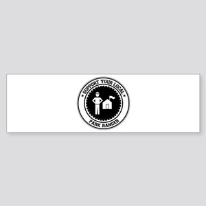 Support Park Ranger Bumper Sticker