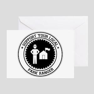 Support Park Ranger Greeting Card