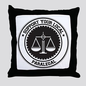 Support Paralegal Throw Pillow