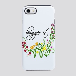 Bugger It Swearing Floral iPhone 8/7 Tough Case