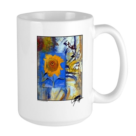 """Ariel, Lion of God"" Large Mug"