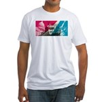 PC Metroliner Fitted T-Shirt