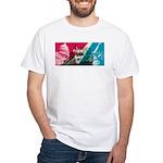 PC Metroliner White T-Shirt