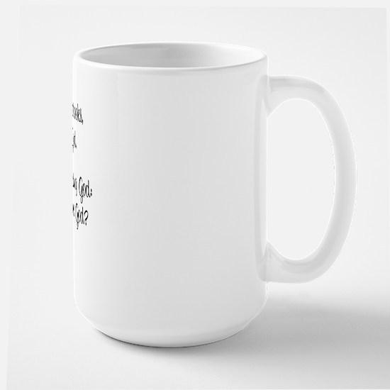 """""""As the Hart"""" Large Mug"""