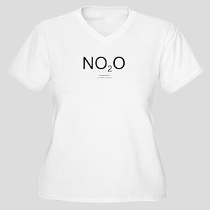 NO2O - Women Women's Plus Size V-Neck T-Shirt