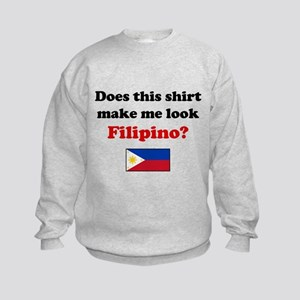 Make Me Look Filipino Kids Sweatshirt