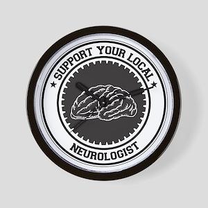 Support Neurologist Wall Clock