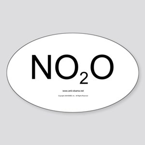 NO2O - Misc Oval Sticker