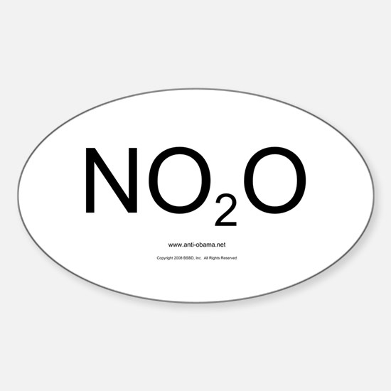 NO2O - Misc Oval Decal