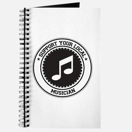 Support Musician Journal