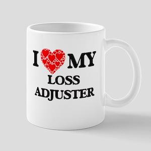 I Love my Loss Adjuster Mugs