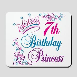 7th Birthday Princess Mousepad