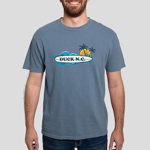 Duck NC - Surf Design White T-Shirt