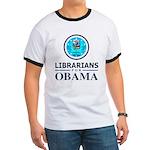 Librarians for Obama Ringer T