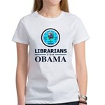 Librarians for Obama Women's T-Shirt