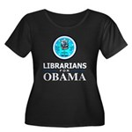 Librarians for Obama Women's Plus Size Scoop Neck