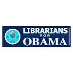 Librarians for Obama Bumper Sticker