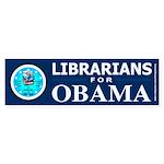 Librarians for Obama Bumper Sticker (50 pk)