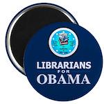 Librarians for Obama Magnet
