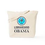 Librarians for Obama Tote Bag