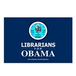 Librarians for Obama Postcards (Package of 8)