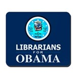 Librarians for Obama Mousepad
