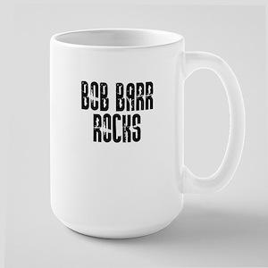 Bob Barr Rocks Large Mug