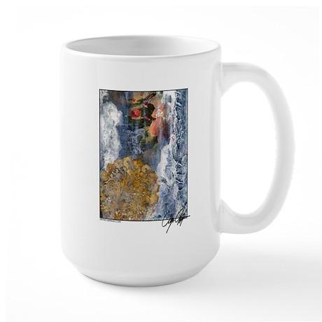 Once A Dogwood Large Mug