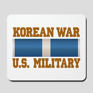 Korean War Service Ribbon Mousepad