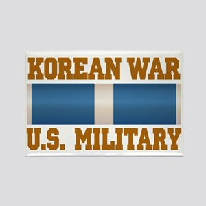 Korean War Service Ribbon Rectangle Magnet