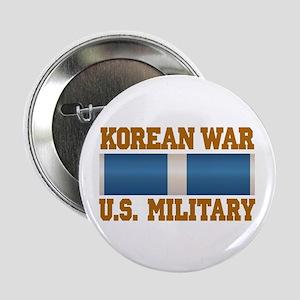 "Korean War Service Ribbon 2.25"" Button"