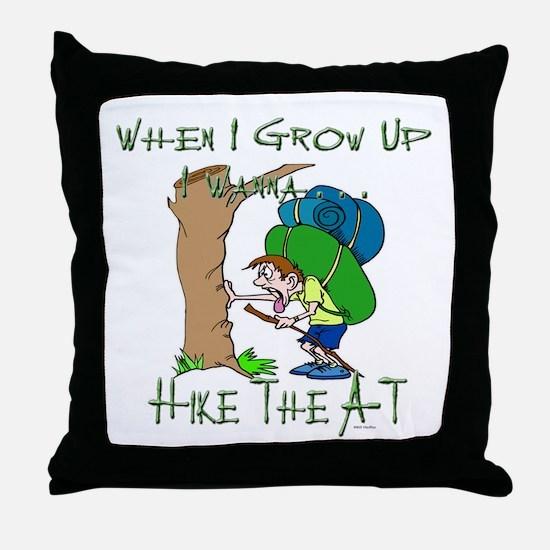 Hike A-T 2 Throw Pillow
