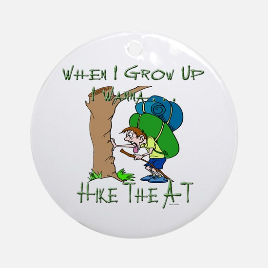 Hike A-T 2 Ornament (Round)