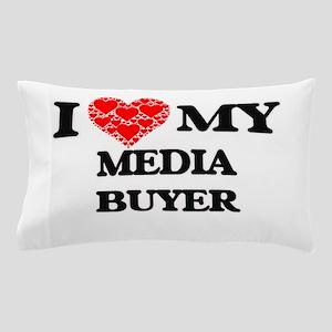 I Love my Media Buyer Pillow Case