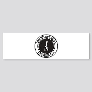Support Mandolin Player Bumper Sticker